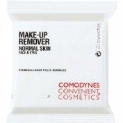 Comodynes convenient cosmetics - make up remover normal skin (20 toallitas)
