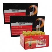 Dercos technique aminexil pro hombre (48 amp (caja 18 x2) + 12 amp)