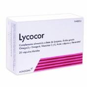 Lycocor (20 capsulas blandas)