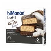Bimanan beFit chocolate-coco 6 barritas
