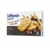 Bimanan beFit cereales con chocolate 6 galletas