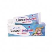 Lacer Júnior Gel Dental Sabor Fresa 50 ml