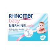 Narhinel Confort 20 recambios aspirador nasal