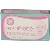 Respimar pediatrico aspirador nasal recambios (10 recambios)