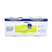 Resource aqua + gelificada (125 g  4 tarrinas manzana y pera)