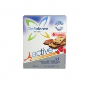 DIABALANCE EXPERT ACTIVE - BARRITA ENERGETICA (6 BAR CEREALES C/ CHOCOLATE/ FRUTOS ROJOS)