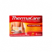 Thermacare parche termico zona lumbar cadera (4 parches)