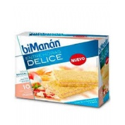 Bimanan entre horas crackers pizza (200 g 10 u)