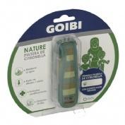 Goibi Nature Pulsera de Citronella Color Caqui