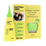 AntiPiojos Isdin Repelente (Pack Gel 100 ml + Lendrera)
