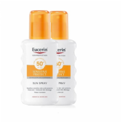 Eucerin Sun Spray Sensitive Protect SPF50+ 200 ml - Duplo 2ª unidad 50%
