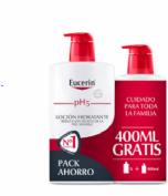 Eucerin Pack Ahorro Loción Hidratante 1 litro + 400 ml gratis