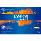 TAMPAX COMPAK SUPER PLUS 22 UD