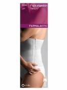 Farmalastic Faja Algodón Velcro Blanco Talla 2
