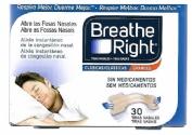 Breathe Right Clásicas Grandes 30 tiras nasales