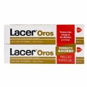 Lacer Oros Pasta Dentífrica - Duplo Ahorro 2 x 125 ml