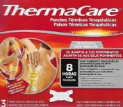 THERMACARE 3  PARCHES TÉRMICOS TERAPÉUTICOS ADAPTABLES