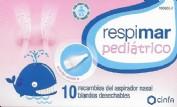 Respimar Pediatrico 10 recambios aspirador nasal