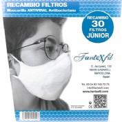Filtros Mascarilla Junior 30 unidades Fantexfil