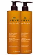Nuxe Reve de Miel GelLimpiador Dermatológico Duplo 2 x 400 ml