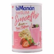 Bimanan beSlim Smoothie Avena Fresa Plátano 420g (12 smoothies)