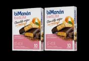 Bimanan beSlim Barritas chocolate negro con Naranja Duplo