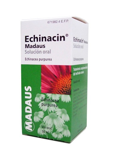 ECHINACIN MADAUS SOLUCION ORAL, 1 frasco de 50 ml