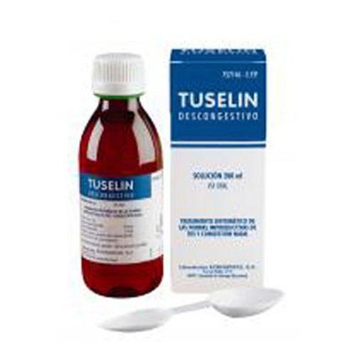 TUSELIN DESCONGESTIVO 2 mg/ml + 1 mg/ ml JARABE , 1 frasco de 200 ml