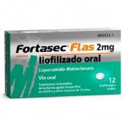 FORTASEC FLAS 2 mg LIOFILIZADO ORAL , 12 liofilizados