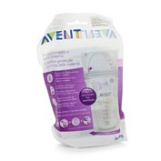Bolsas almacenamiento leche materna - philips avent (25 bolsas)