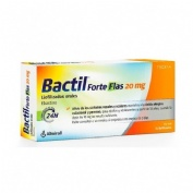 BACTIL FORTE FLAS 20 MG LIOFILIZADOS ORALES, 10 liofilizados orales