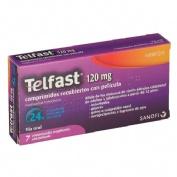 TELFAST 120 mg COMPRIMIDOS RECUBIERTOS CON PELICULA , 7 comprimidos
