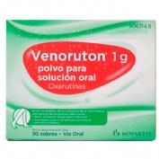 VENORUTON 1 g POLVO PARA SOLUCION ORAL , 30 sobres