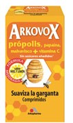 Arkovox propolis + vitamina c (20 comp miel y limon)