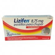 LIZIFEN 8,75 MG PASTILLAS PARA CHUPAR SABOR MENTA 16 pastillas
