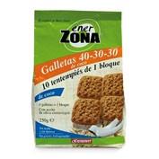 ENERZONA GALLETAS COCO 40 30