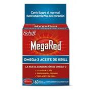 Megared 500 omega 3 aceite de krill (60 capsulas)