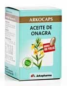 ARKOCAPS ACEITE ONAGRA 100 PERLAS