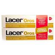 Lacer oros pasta dental 125 ml. duplo