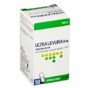 ULTRA-LEVURA 50 mg CAPSULAS DURAS , 50 cápsulas